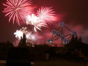 Atomium Fireworks