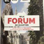 Wijk FORUM de quartier – La(e)ken Zuid / Sud 20/3/18