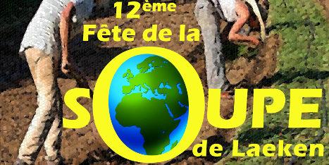 12ème Fête de la soupe de Laeken: dimanche 25 mars 2018!