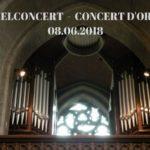 8/6/18 Eeuwfeest van het Salomon Van Beverorgel / Centenaire de l'orgue Salomon Van Bever 1918-2018