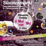 17ème Marché floral – 6 mai 2018 – Parvis Notre Dame de Laeken
